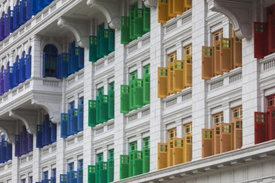 Singapore, Mita Building, Ministry of Information and the Arts, Housed in Former Police Barracks by Walter Bibikow