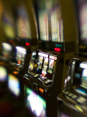 Slot Machines, Luxor Casino, Las Vegas, Nevada, USA by Walter Bibikow