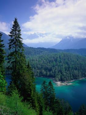Sonnenspitze & the Wetterstein, Tyrol, Austria by Walter Bibikow