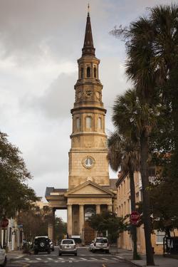 South Carolina, Charleston, St. Philips Episcopal Church by Walter Bibikow