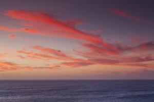 Southwest Australia, Prevelly, Surfers Point, Dusk by Walter Bibikow