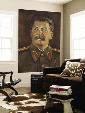 Soviet-Era Art, M.J.V. Stalin By Johannes Saal, 1952, Art Museum of Estonia, Tallinn, Estonia by Walter Bibikow