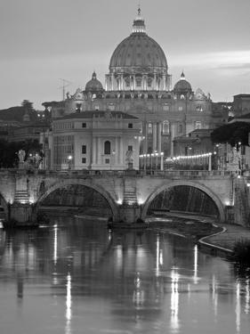 St. Peter's Basilica, Rome, Italy by Walter Bibikow