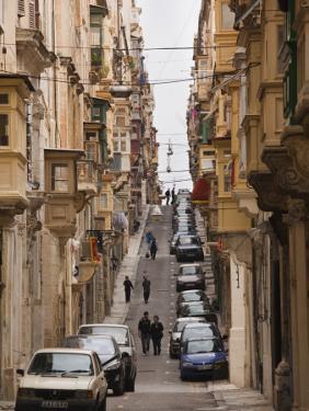 St. Ursula Street, Triq Sant-Orsla, Valletta, Malta by Walter Bibikow