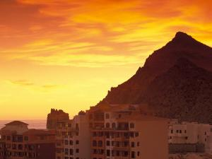 Sunrise over Land's End, Cabo San Lucas, Baja California Sur, Mexico by Walter Bibikow