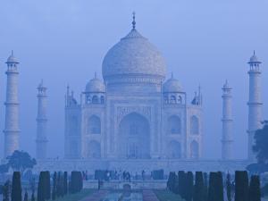 Taj Mahal, Agra, Uttar Pradesh, India by Walter Bibikow