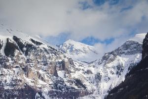 Telluride, Ajax Peak, Mountains, Colorado, USA by Walter Bibikow