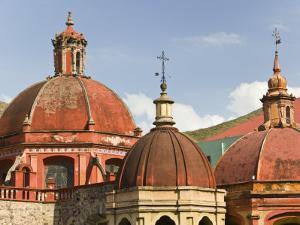 Templo De San Diego De Alcala Church, Guanajuato, Mexico by Walter Bibikow