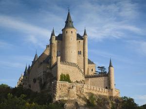 The Alcazar, Segovia, Spain by Walter Bibikow