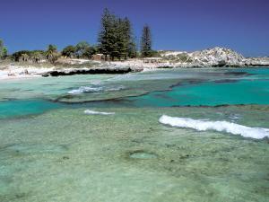 The Basin, Rottnest Island, Perth Area, Western Australia, Australia by Walter Bibikow