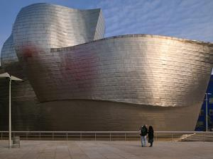 The Guggenheim Museum, Bilbao, Spain by Walter Bibikow