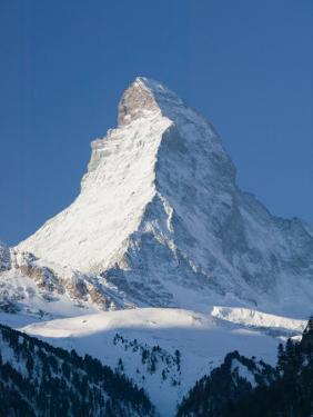 The Matterhorn, Zermatt, Valais, Wallis, Switzerland by Walter Bibikow