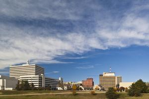 Topeka City Skyline, Kansas, USA by Walter Bibikow