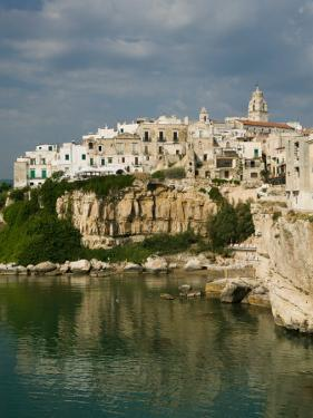Town View from Punta San Francesco, Vieste, Promontorio del Gargano, Puglia, Italy by Walter Bibikow