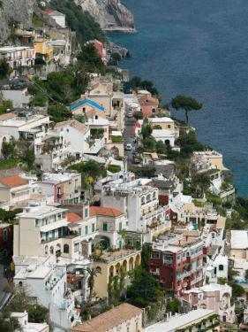 Town View, Positano, Amalfi Coast, Campania, Italy by Walter Bibikow