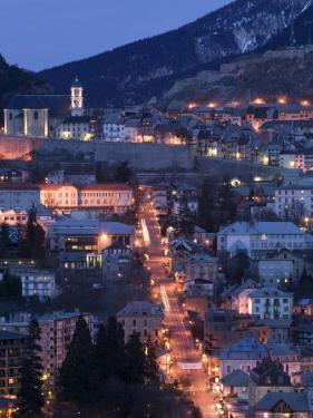Town View with Ave de la Republique, Alpes Briancon by Walter Bibikow
