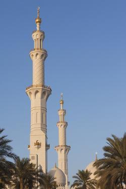 UAE, Abu Dhabi. Sheikh Zayed bin Sultan Mosque by Walter Bibikow