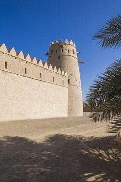 UAE, Al Ain. Al Jahili Fort. by Walter Bibikow