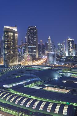 UAE, Downtown Dubai. Dubai Mall by Walter Bibikow