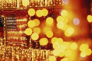 USA, Arizona, Lake Havasu City, Christmas Festival by Walter Bibikow