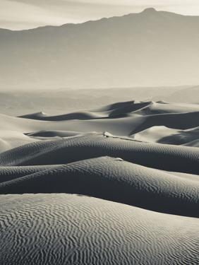USA, California, Death Valley National Park, Mesquite Flat Sand Dunes by Walter Bibikow