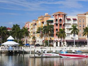 USA, Florida, Gulf Coast, Naples, Bayfront by Walter Bibikow