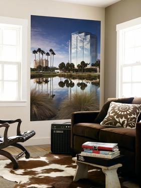 USA, Florida, Sarasota, Skyline and One Sarasota Tower Building by Walter Bibikow