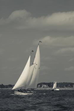 USA, Massachusetts, Cape Ann, Gloucester, America's Oldest Seaport, Annual Schooner Festival by Walter Bibikow