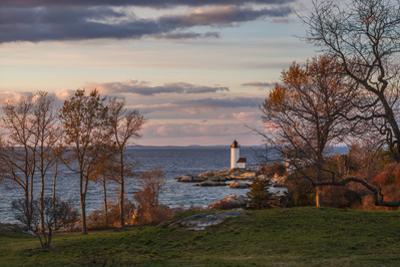 USA, Massachusetts, Cape Ann, Gloucester, Annisquam Lighthouse by Walter Bibikow