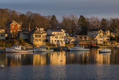 USA, Massachusetts, Cape Ann, Gloucester, Annisquam, Lobster Cove by Walter Bibikow