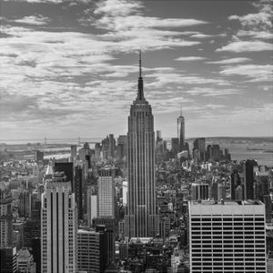 USA, New York, New York City, Elevated View of Midtown Manhattan from the 30 Rock Viewning Platform by Walter Bibikow