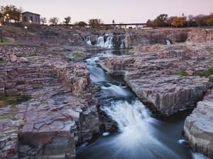 USA, South Dakota, Sioux Falls, Sioux Falls Park by Walter Bibikow