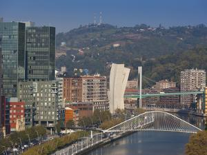 View of Parque Etxebarria Park, Bilbao, Spain by Walter Bibikow