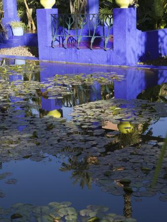 Villa Reflexion, Jardin Majorelle and Museum of Islamic Art, Marrakech, Morocco by Walter Bibikow