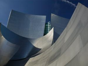 Walt Disney Concert Hall, Los Angeles, California, USA by Walter Bibikow
