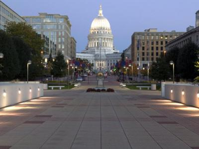 Wisconsin State Capitol Building, Madison, WI