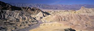 Zabriskie Point, Death Valley, California, USA by Walter Bibikow