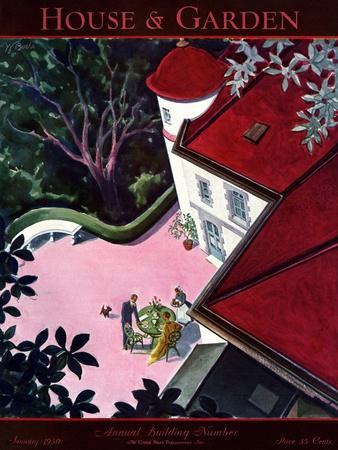 House & Garden Cover - January 1930