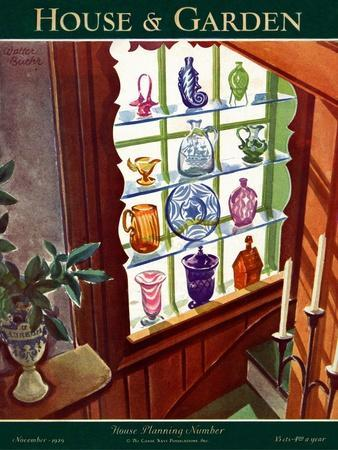 House & Garden Cover - November 1929