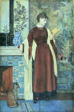 At Home: a Portrait, 1872 by Walter Crane