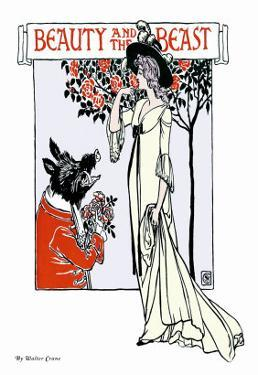 Beauty and the Beast, c.1900 by Walter Crane