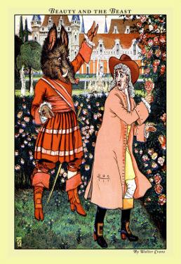 Beauty and the Beast, The Beast in Red, c.1900 by Walter Crane