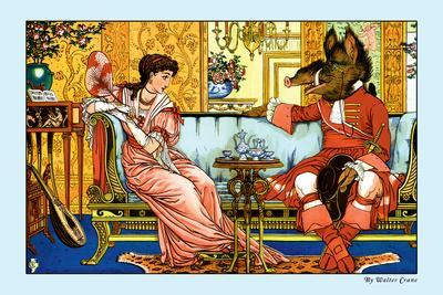 Beauty and the Beast, The Courtship, c.1900