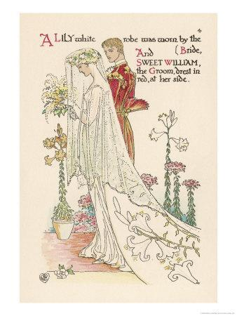 Crane a Flower Wedding