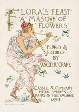 Crane, Flora's Feast by Walter Crane