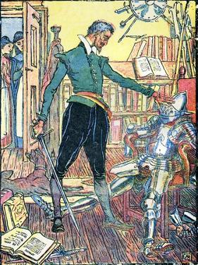 Don Quixote of the Mancha by Walter Crane by Walter Crane