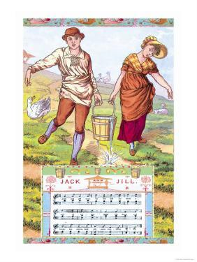 Jack and Jill, c.1885 by Walter Crane