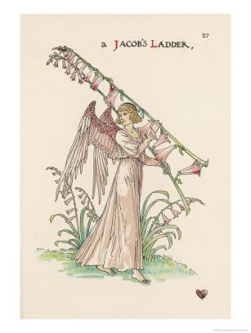 Jacob's Ladder by Walter Crane