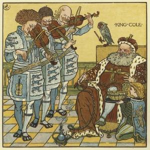 King Cole by Walter Crane