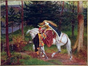 La Belle Dame Sans Merci by Walter Crane